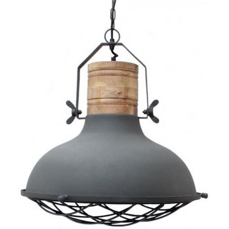 Grid hanglamp grijs - Label51