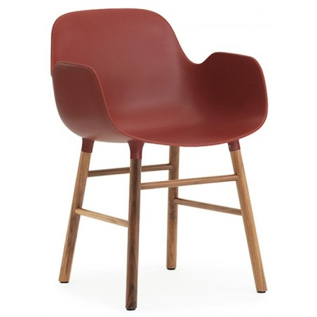 Form armchair walnoot - Normann Copenhagen