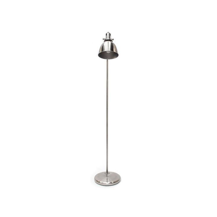 Spot vloerlamp Antique Zilver - Label51