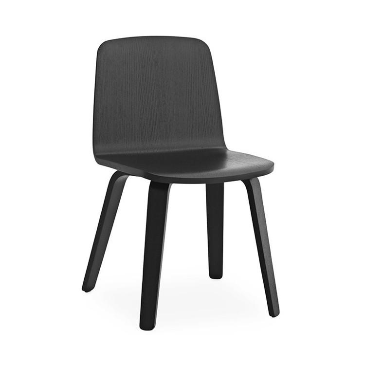 Just Chair Oak stoel zwart - Normann Copenhagen