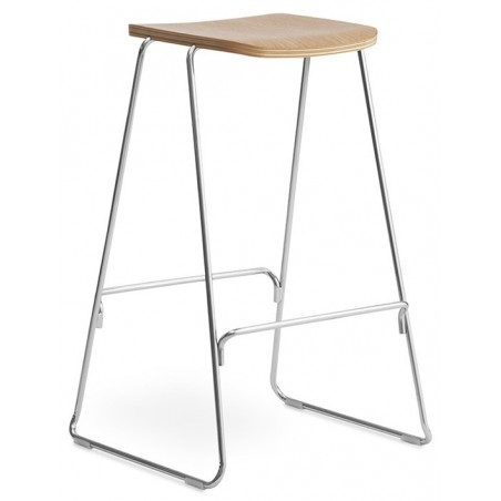 Just Barkruk Oak 75 cm - Normann Copenhagen