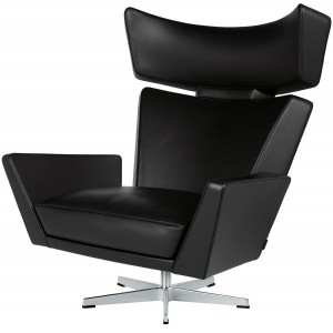 Oksen lounge chair - Fritz Hansen