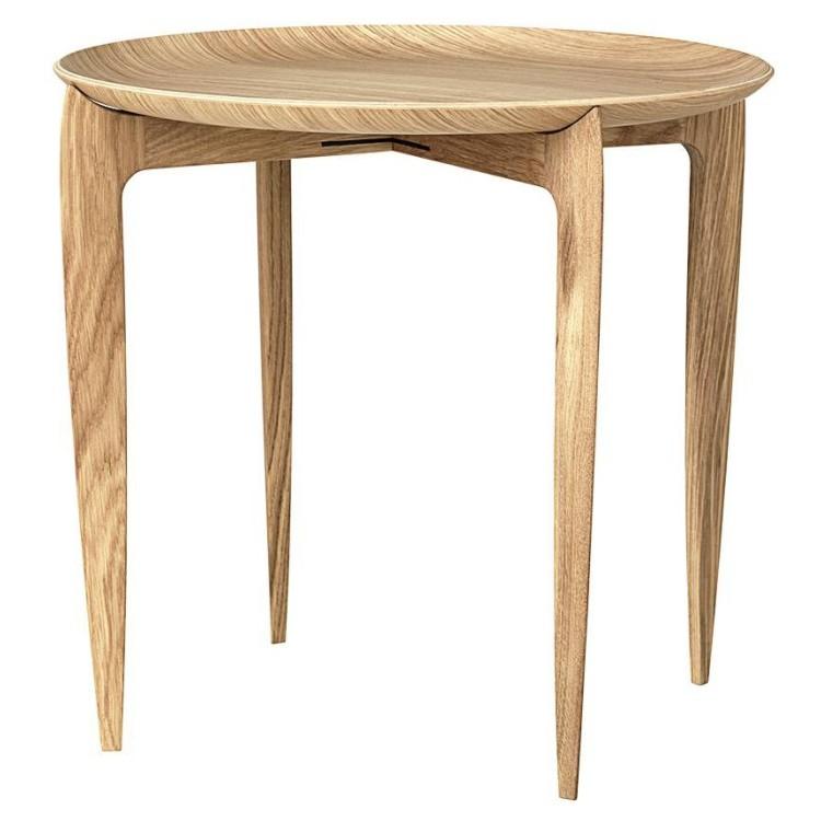 Foldable Tray Table bijzettafel Eiken - Fritz Hansen