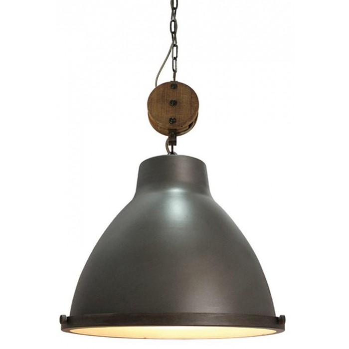 Dock hanglamp staal - Label51