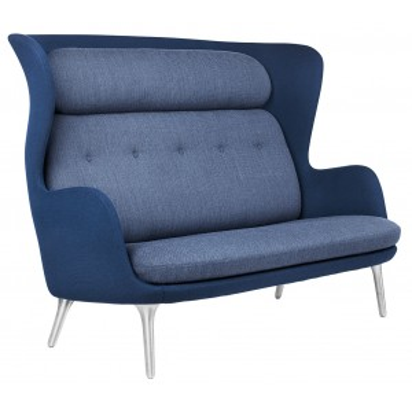 Ro Sofa aluminium - Fritz Hansen