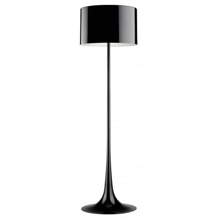 Spun Light F vloerlamp zwart - FLOS