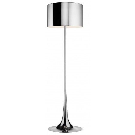 Spun Light F vloerlamp aluminium - FLOS