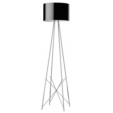 Ray F2 vloerlamp zwart - FLOS