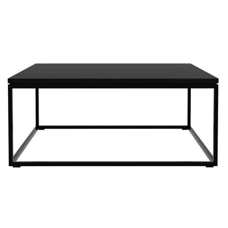 Zwarte Salon Tafel.Thin Salontafel In Zwart Eiken Ethnicraft