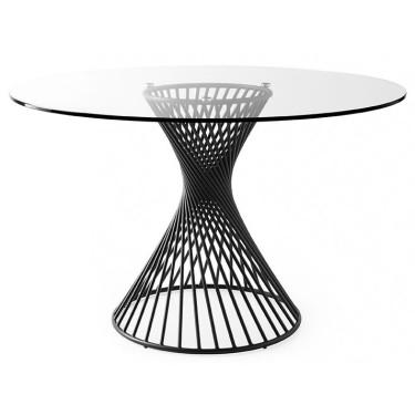 Vortex ronde tafel glas - Calligaris
