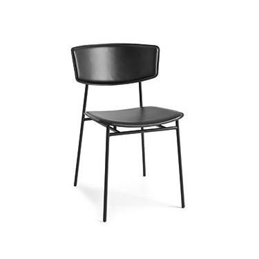 Fifties stoel leder - Calligaris