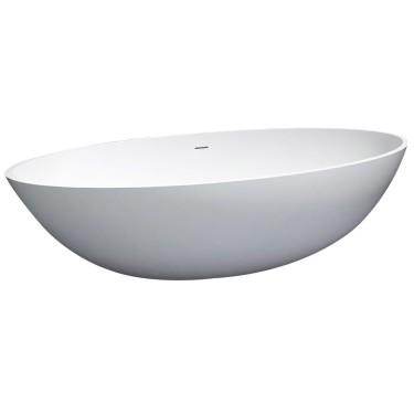 Vrijstaand ligbad 180cm Solid New Stone - Best Design