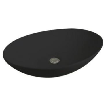 Opbouw vrijstaande waskom Ritz zwart - Abitare Design