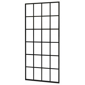 Inloopdouchewand Walk-In Black-Screen 900 - Abitare Design