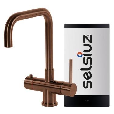 Kokendwaterkraan Haaks Koper (Combi boiler) - Selsiuz