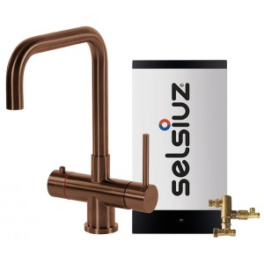 Kokendwaterkraan Haaks Koper (Combi Extra boiler) - Selsiuz