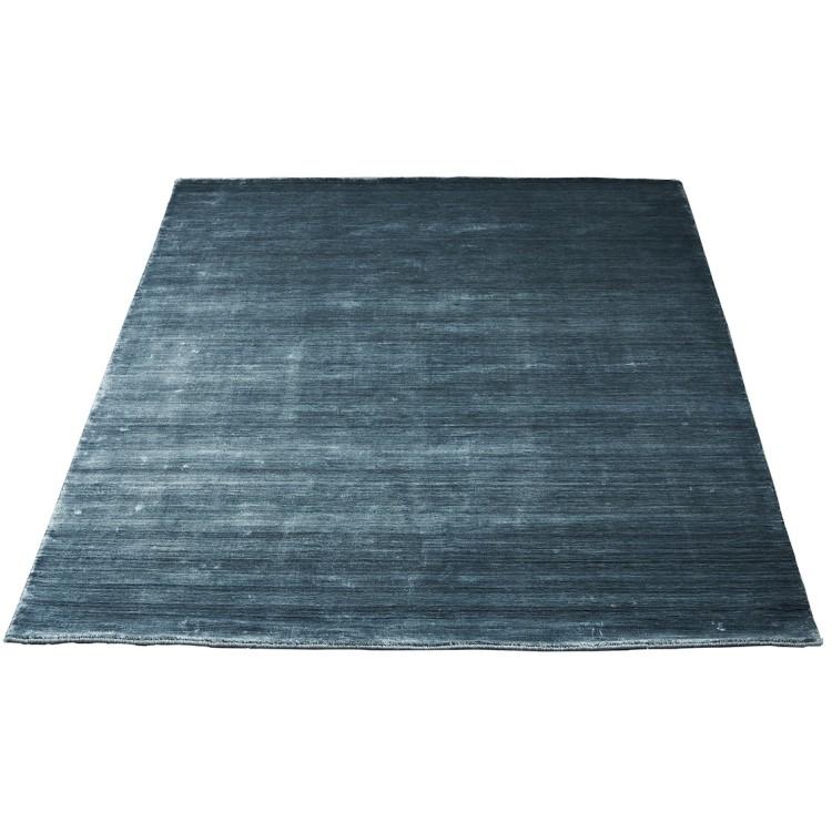 Bamboo vloerkleed blauw - Massimo