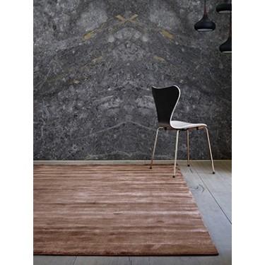 Bamboo vloerkleed koper - Massimo
