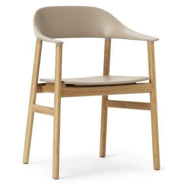 Herit armchair eiken - Normann Copenhagen