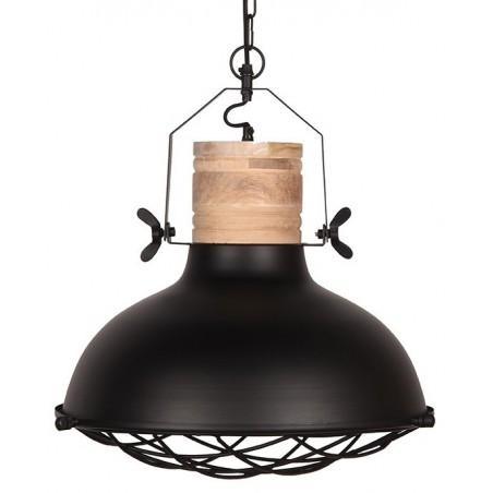Grid hanglamp zwart - Label51