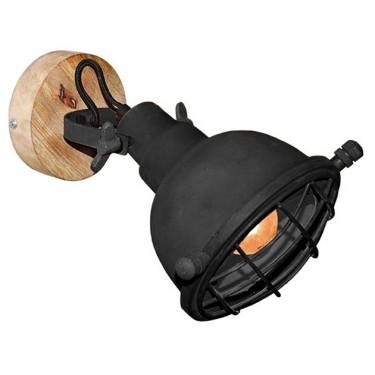 Grid wandlamp zwart - Label51