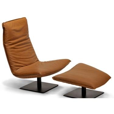 Le Sac fauteuil hoog verstelbaar leder - Indera