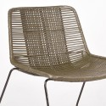 Jax fauteuil rotan army - Label51