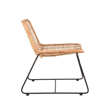Jax fauteuil rotan naturel - Label51