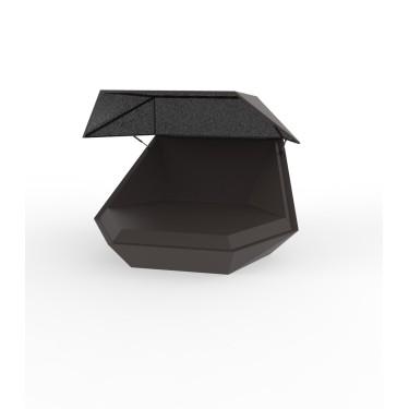 Faz daybed met parasol - VONDOM