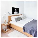 Azur bed eiken - Ethnicraft