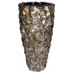 Pot Mother of Pearl Bruin H96 - Pot & Vaas