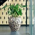Pot Mother of Pearl Bruin H80 - Pot & Vaas