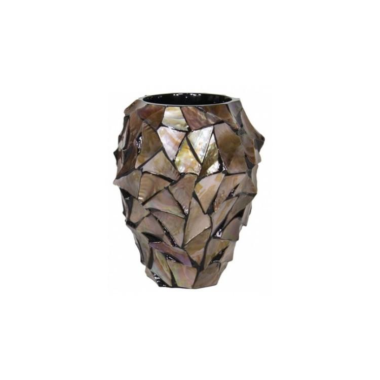 Pot Mother of Pearl Bruin H24 - Pot & Vaas