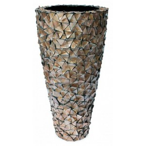 Pot Mother of Pearl Bruin H140 - Pot & Vaas