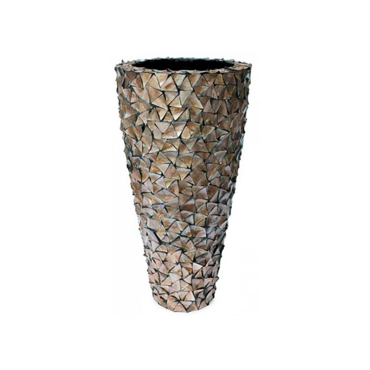 Pot Mother of Pearl Bruin H140 - Pot & Vaas