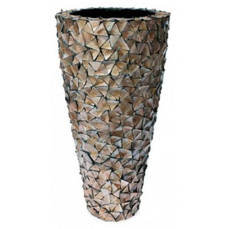 Pot Mother of Pearl schelpenpot Bruin H140 - Pot & Vaas