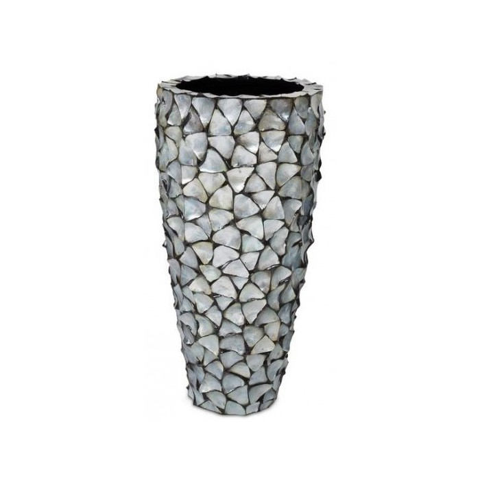 Pot Mother of Pearl Zilver H96 - Pot & Vaas