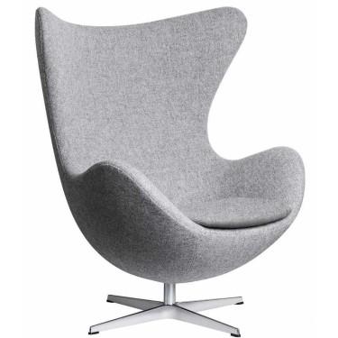 Egg chair Hallingdal stof - Fritz Hansen
