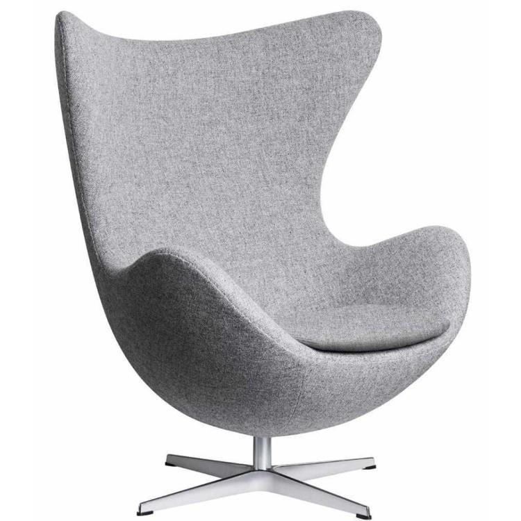 Egg Chair Stof.Egg Chair In Hallingdal Stof Fritz Hansen