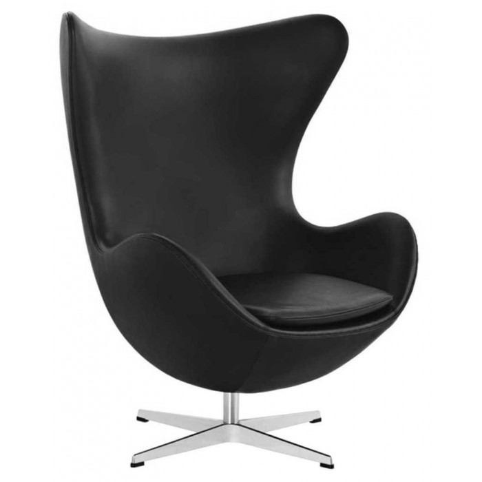 Egg chair basic leder - Fritz Hansen