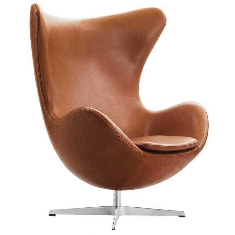 Nieuw Egg Chair Elegance Leder   Fritz Hansen