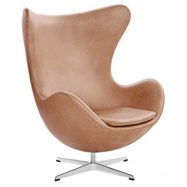 Egg chair rustic leder - Fritz Hansen