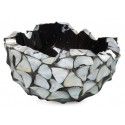 Schelpenschaal Mother of Pearl Zilver 40x40- Pot & Vaas