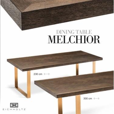 Melchior eettafel 230cm - Eichholtz