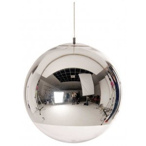 Mirror Ball Chrome Hanglamp - Tom Dixon