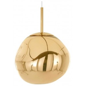 Melt Mini hanglamp goud 28cm - Tom Dixon