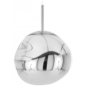 Melt Mini hanglamp chroom 28cm - Tom Dixon