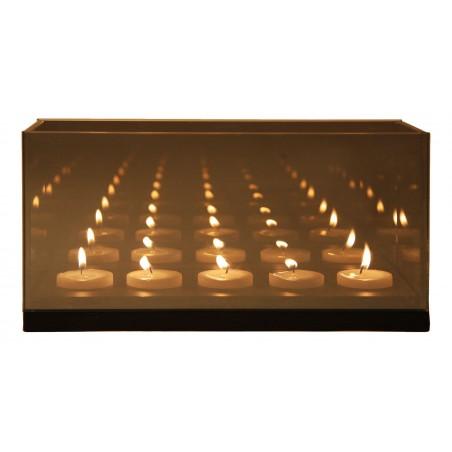 Reflection Waxinelichthouder cinq zwart - &klevering