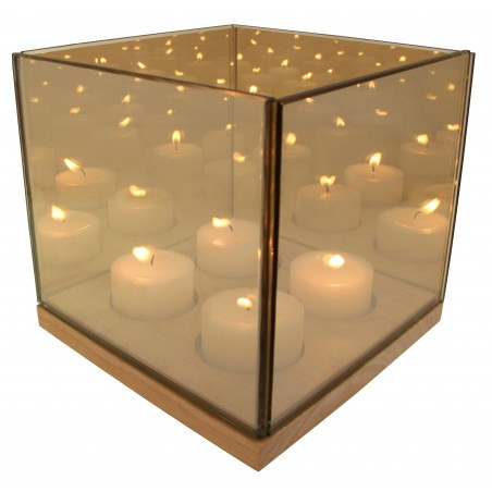 Reflection Waxinelichthouder quartet goud - &klevering