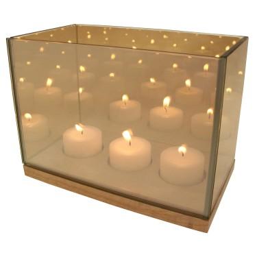 Reflection Waxinelichthouder triple goud - &k amsterdam
